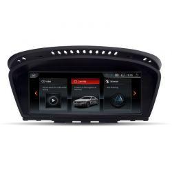 Multimédia Android BMW Série 5 E60 E61 M5 2009 2010 2011 Série 6 E63 E64 M6 Série 3 E90 E91 E92 E93 M3 com CIC
