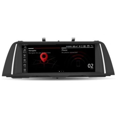 Auto Rádio GPS USB Bluetooth BMW  F10 Série 5 de 2010 2011 2012 Android