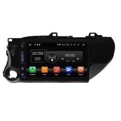 Auto Rádio Android Toyota Hilux  2017 2018 GPS Bluetooth USB