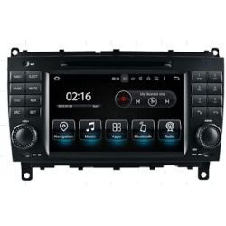 Auto Rádio CLK W209 e CLS W219 Android GPS Bluetooth USB 2004 2005 2006 2007 2008 2009 2010 2011