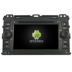 Auto Rádio Toyota Land Cruiser Prado 120 de 2002 a 2009 GPS DVD Bluetooth Android