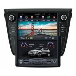 Auto Rádio Nissan Qashqai X-Trail Android Tesla GPS Bluetooth USB Carplay 2013 2014 2015 2016 2017