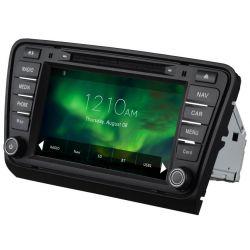 Auto Rádio GPS DVD Bluetooth Skoda Octavia A7 2013 2014