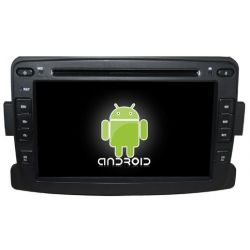 Auto Rádio GPS Bluetooth Renault Duster Android