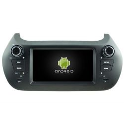 Auto Rádio FIAT FIORION GPS DVD Bluetooth Android