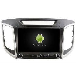 Auto Rádio HYUNDAI ix25 GPS DVD Bluetooth Android