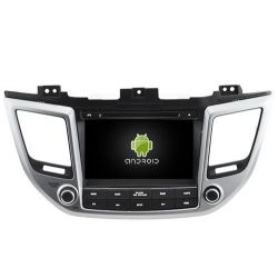 Auto Rádio HYUNDAI TUCSON e IX35 2016 GPS DVD Bluetooth Android