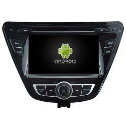 Auto Rádio HYUNDAI ELANTRA 2014 GPS DVD Bluetooth Android