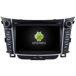Auto Rádio HYUNDAI i30 2011-2013 GPS DVD Bluetooth Android