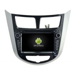 Auto Rádio HYUNDAI VERNA, ACCENT e SOLARIS 2011-2012 GPS DVD Bluetooth Android
