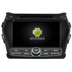 Auto Rádio HYUNDAI IX45 2013 e SANTA FE 2013 GPS DVD Bluetooth Android