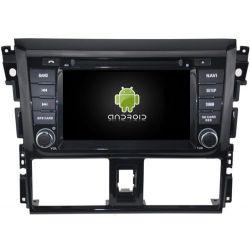 Auto Rádio Toyota Yaris 2014 GPS DVD Bluetooth Android