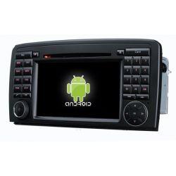 Auto Rádio MERCEDES-BENZ R CLASS W251 R280, R320, R350, R500 GPS DVD Bluetooth Android