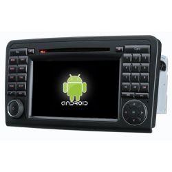 Auto Rádio MERCEDES-BENZ ML W164 2005 a 2012,GL X164 (2005 a 2012) GPS DVD Bluetooth Android