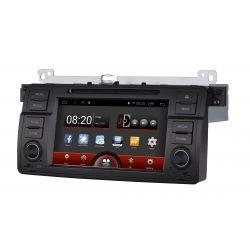 Auto Rádio GPS DVD Bluetooth BMW Série 3 E46 Android