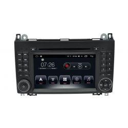 Auto Rádio Mercedes Benz Classe A Classe B Viano Vito Sprinter GPS DVD Bluetooth Android