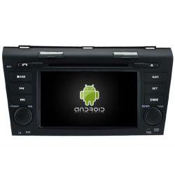 Auto Rádio Mazda 3 de 2004 a 2009 GPS Bluetooth USB Android