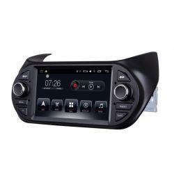 Auto Rádio Fiat Fiorino 2008-2016 Citroen Nemo 2008-2016 Peugeot Bipper 2008-2016 GPS USB Bluetooth Android