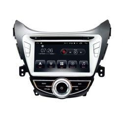 Auto Rádio HYUNDAI ELANTRA, i35 e AVANTE 2010 2011 2012 2013 GPS DVD Bluetooth Android