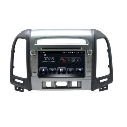 Auto Rádio HYUNDAI SANTAFE GPS USB Bluetooth 2008 2009 2010 2011 2012 2013 Android