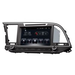 Auto Rádio Hyundai Elantra 2016 2017 2018 GPS USB Bluetooth Android