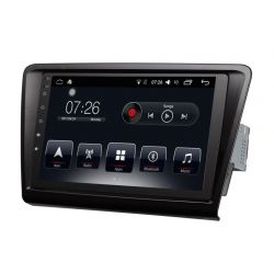 Auto Rádio Skoda Rapid GPS Bluetooth USB  2010 a 2016 Android