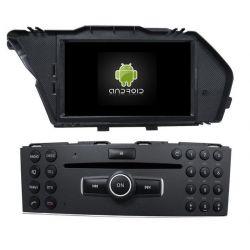 Auto Rádio Mercedes Benz GLK 2009-2012 GPS Bluetooth USB Android