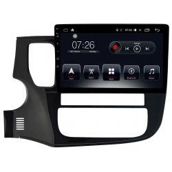 Auto Rádio Mitsubishi Outlander 2015 2016 2017 2018 GPS Bluetooth USB Android