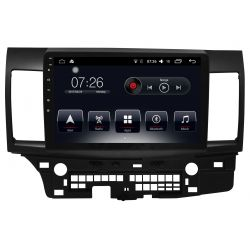 Auto Rádio Mitsubishi Lancer 2012 a 2017 GPS USB Bluetooth Android