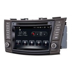 "Auto Rádio 7"" Suzuki Swift  Ertiga GPS DVD Bluetooth 2011 2012 2013 2014 2015 Android"