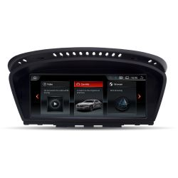 Multimédia Android BMW Série 5 E60 E61 M5 (2005-2010) Série 6 E63 E64 M6 Série 3 E90 E91 E92 E93 M3 com CCC