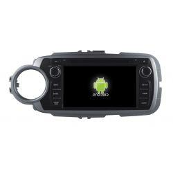 Auto Rádio Toyota Yaris 2012 2013 2014 2015 2016 2017 GPS Bluetooth USB Android