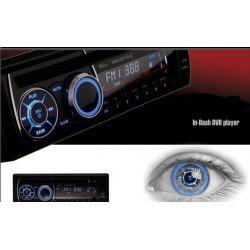 Auto Rádio 1 Din CD DVD SD USB Mp3 Mp4