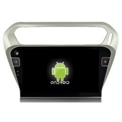 Auto Rádio GPS Bluetooth USB Citroen Elysee Android